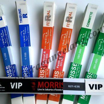 Tiket Gelang MORRISSEY Jakarta 2012